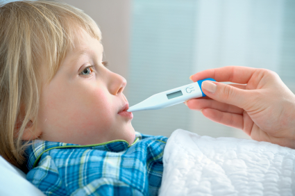 O πυρετός και η αντιμετώπισή του σε βρέφη και παιδιά.