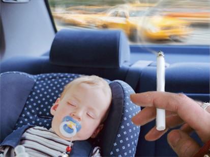 Παθητικό κάπνισμα και παιδιά.
